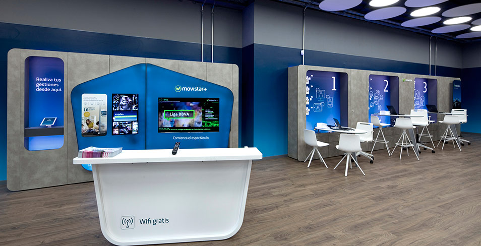 Quanto arquitectura for Movistar oficinas